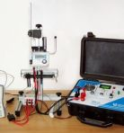 Small testing equipment for electricity meters checking STE